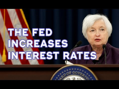 Federal Reserve Increases Interest Rates by 0.25%   Janet Yellen   2016