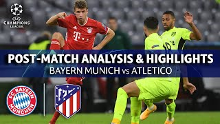 Bayern Munich vs Atletico: Post Match Analysis & Highlights | UCL on CBS Sports