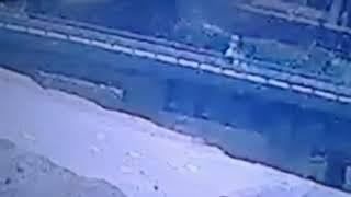 فيديو للحظة تفجير ارهابي مسطرد     -