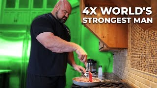 DAY IN THE LIFE OF A WORLDS STRONGEST MAN