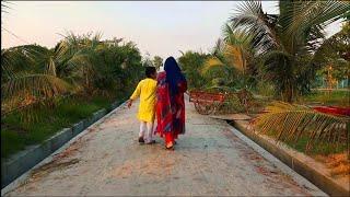 আজকে সুন্দর একটি গ্রাম ঘুরে দেখাব /Bangladeshi village  tour vlog /BD vlogger Toma