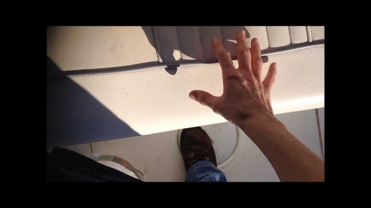 How To Repair A Boat Seat Youtube