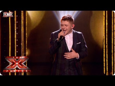 Nicholas McDonald sings Superman - Live  Final Week 10 - The X Factor 2013