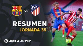 Resumen de FC Barcelona vs Atlético de Madrid (0-0)