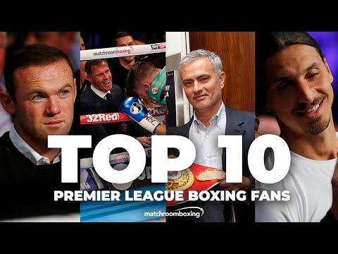 Top 10 Premier League fight fans at Matchroom Boxing events 1