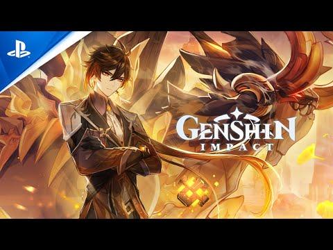Genshin Impact   Bande-annonce de la version 1.5 « Toute la lueur sur la jadéite »   PS5, PS4