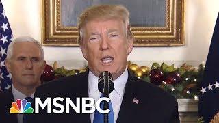 World Leaders Condemn President Donald Trump's Jerusalem Decision | AM Joy | MSNBC