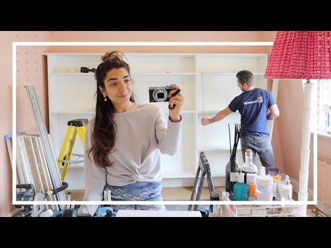 My Dream Dressing Room IS HERE!! | Building & Organising my closet | Amelia Liana