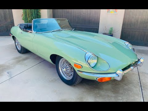 video 1970 Jaguar XKE Series II OTS Roadster