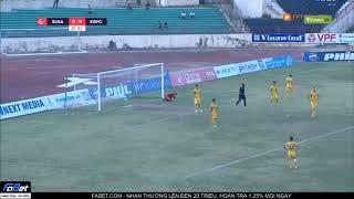 Vòng 16 VLeague 2019 - Sông Lam Nghệ An & Sài Gòn FC