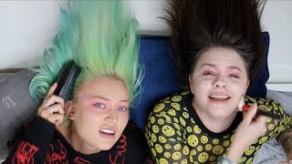 literally the worst makeup challenge ever ft. alycia marie
