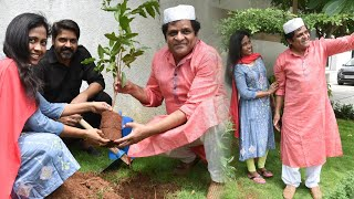 Tollywood actor Ali accepts Green India Challenge, family ..