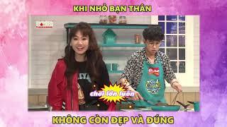 Quang Bảo áp lực tột độ khi phải nấu ăn cùng Liêu Hà Trinh | Khi Chàng Vào Bếp : Tập 13 (2/10/2018)