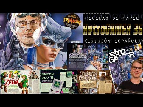 Reseñas de papel: RetroGAMER 36 (Edición Española)