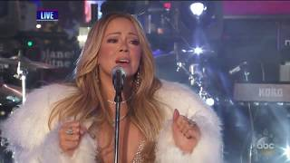 [HD] AMAZING MARIAH CAREY NEW YEARS EVE PERFORMANCE 2017
