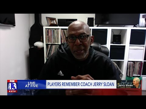 Former Jazz player and now broadcaster Thurl Bailey remembers Coach Jerry Sloan