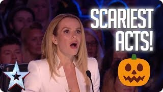 TOP 5 SCARIEST ACTS OF ALL TIME!   Britain's Got Talent