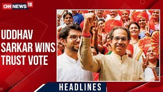Game Over For BJP, Uddhav Thackeray Govt Wins Trust Vote..
