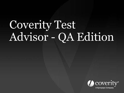Coverity Test Advisor - QA Edition