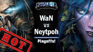 ► WarCraft 3: WaN (UD) vs. Neytpoh (NE) - Endgame Gear Masters Playoffs