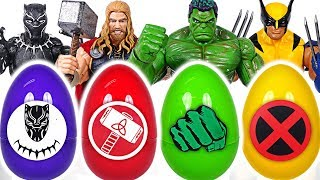 It's a dinosaur! If you touch Marvel Avengers surprise egg, you turn into Avengers! #DuDuPopTOY
