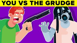 YOU vs THE GRUDGE - Could You Defeat and Survive Her?    FUNNY ANIMATION (The Grudge Horror Movie)