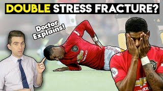 DOUBLE Stress Fracture? Doctor Explains Manchester United's Marcus Rashford Injury