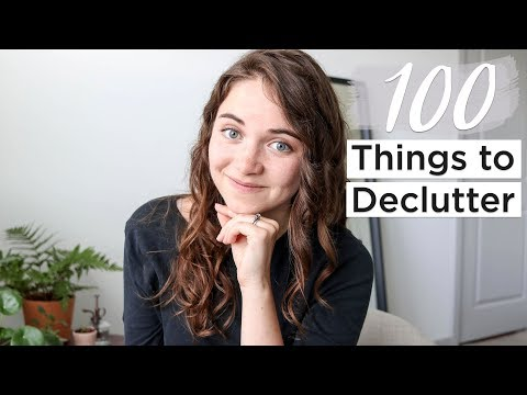 100 THINGS TO GET RID OF BEFORE 2019 | minimalism & decluttering | part 1