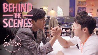 [Behind the Scenes] Nam Joo-hyuk and Kim Seon-ho's bromance blooms | Start-Up [ENG SUB]