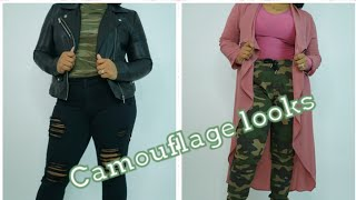 How to style your Camouflage/camo look book(fall)