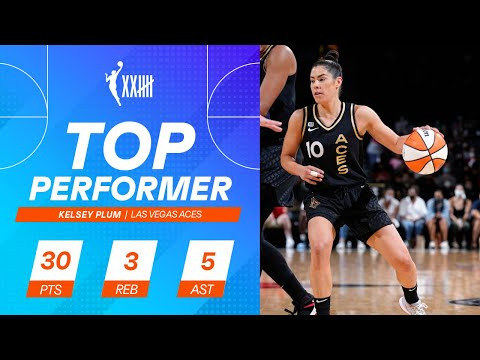 Kelsey Plum Dominates Second Half, Lifts Aces To Comeback Win (September 13, 2021)