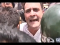 Rahul Gandhi arrested while trying to meet farmers at Mand..