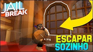 😃 NOVO BUG DE ESCAPAR SOZINHO DO MUSEU | Jailbreak Roblox 🚔🚨