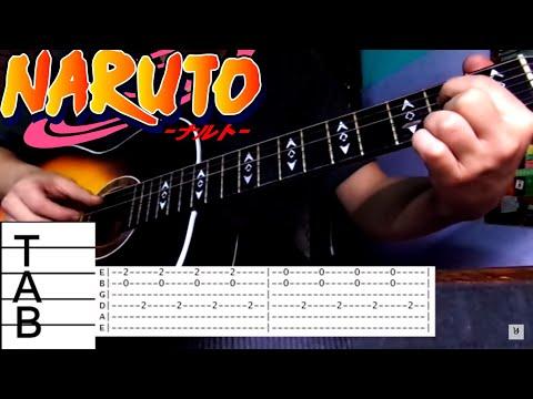 TUTORIAL Naruto Sadness and Sorrow + Guitar Tabs - YouTube - MusicBaby