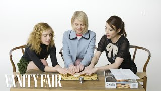 Emma Roberts, Kiernan Shipka & Lucy Boynton Try To Summon Spirits | Vanity Fair