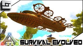 EPIC STEAMPUNK AIRSHIP! ARK: Survival Evolved - S2E13 ( Modded Ark w/ Pugnacia Dinos )