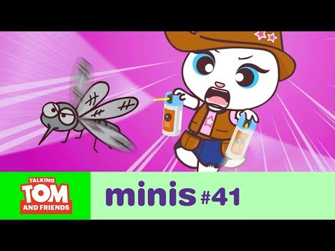 Talking Tom and Friends Minis - Bzzz! Annoying Mosquito (Episode 41)