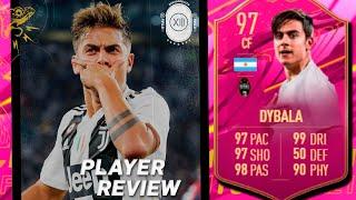 IMPOSIBLE NO RECOMENDAR ESTE SBC!!   PAULO DYBALA FUTTIES 97 REVIEW   FIFA 21