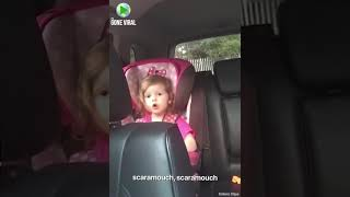 Adorable Girl Sings Bohemian Rhapsody In Car Seat