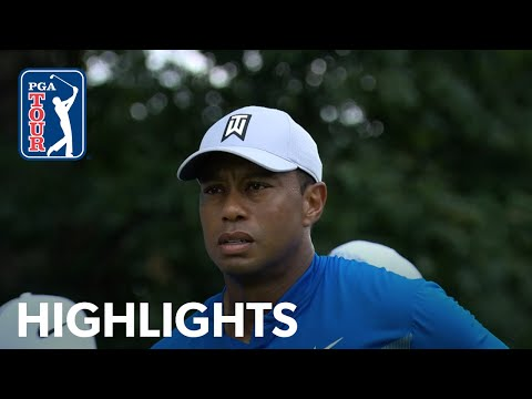 Tiger Woods' highlights | Round 1 | BMW Championship 2019