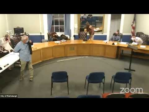 Plattsburgh Common Council Meeting  10-7-21