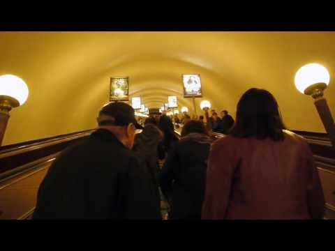 """Down Under"", Russian style.  Deep inside the Moscow Metro (7 Days in Russia)"