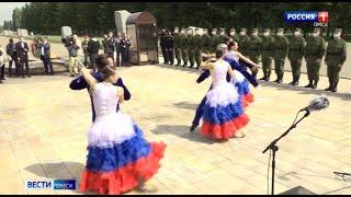 Омичи проводили новобранцев в Президентский полк