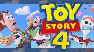 Toy Story 4's FIRST LOOK Revealed! New Character & Synopsis!