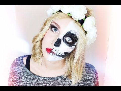 Baixar LADY vs. SKULL - Halloween Make-up Tutorial | Dagi Bee