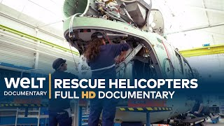 AIR RESCUE - How Airbus Helicopters Are Made   Full Documentary