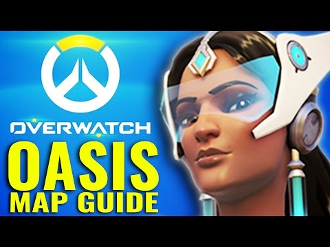 Oasis - New Overwatch Map - Tips and Tactics