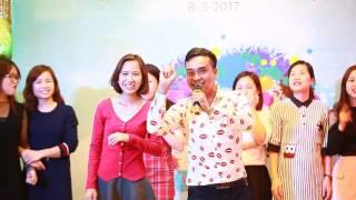 MC Tiến Vũ - Tập Đoàn TECOMEN Việt Nam - Dạ tiệc tôn vinh 8-3-2017
