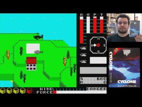 Memorias Spectrumeras 54 - CYCLONE (ZX Spectrum) || Análisis / Review en Español