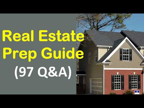Real Estate Prep Guide - 97 Questions & Answers with Explains